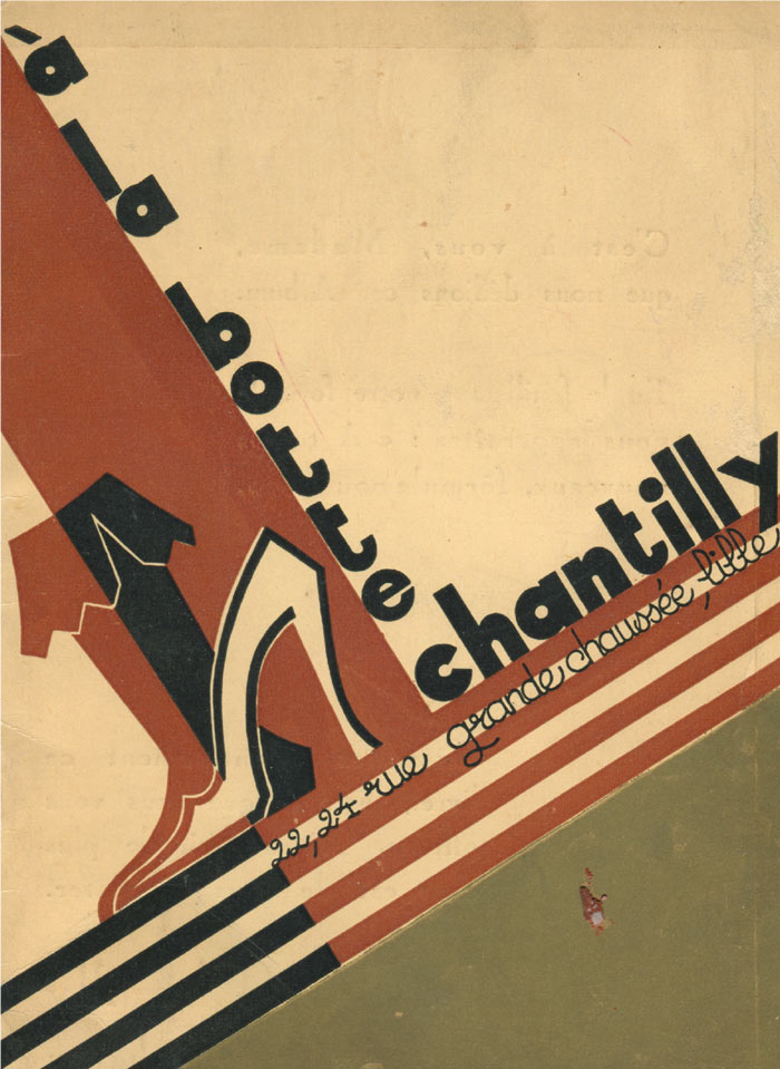 1921 la botte chantilly